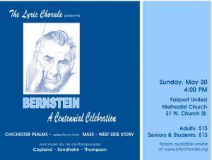 Bernstein - A Centennial Celebration