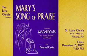Marys Song Of Praise